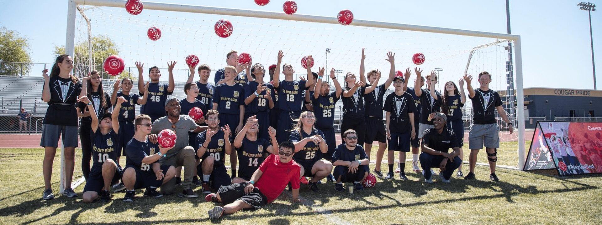 Special Olympics of Arizona Soccer Team