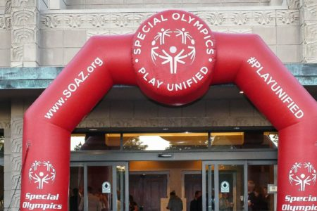 Special Olympics of Arizona Inflatable Arch