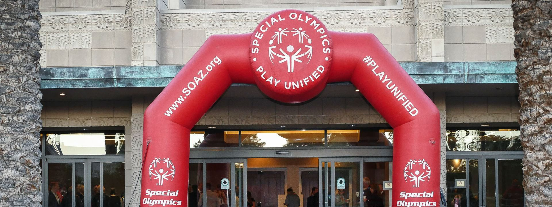 Special Olympics of Arizona Inflatable Arch - about