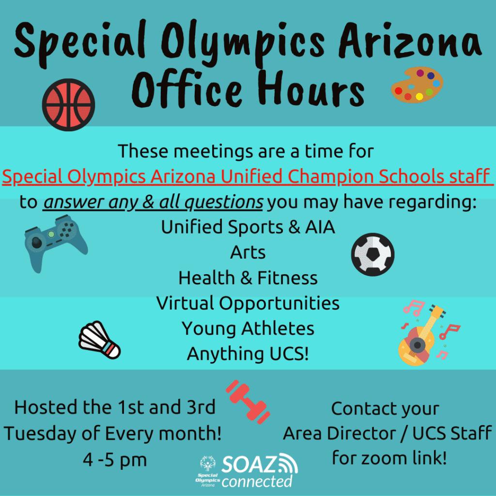 SOAZ Office Hours